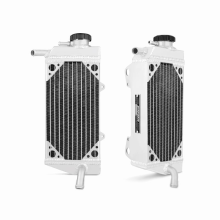Honda CRF450X Right Braced Aluminum Dirt Bike Radiator, 2005-2013