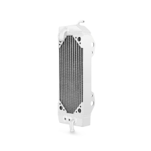 Kawasaki KX250F Left Braced Aluminum Dirt Bike Radiator, 2010-2014