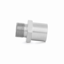 Stainless Steel Sandwich Plate Adapter, M20