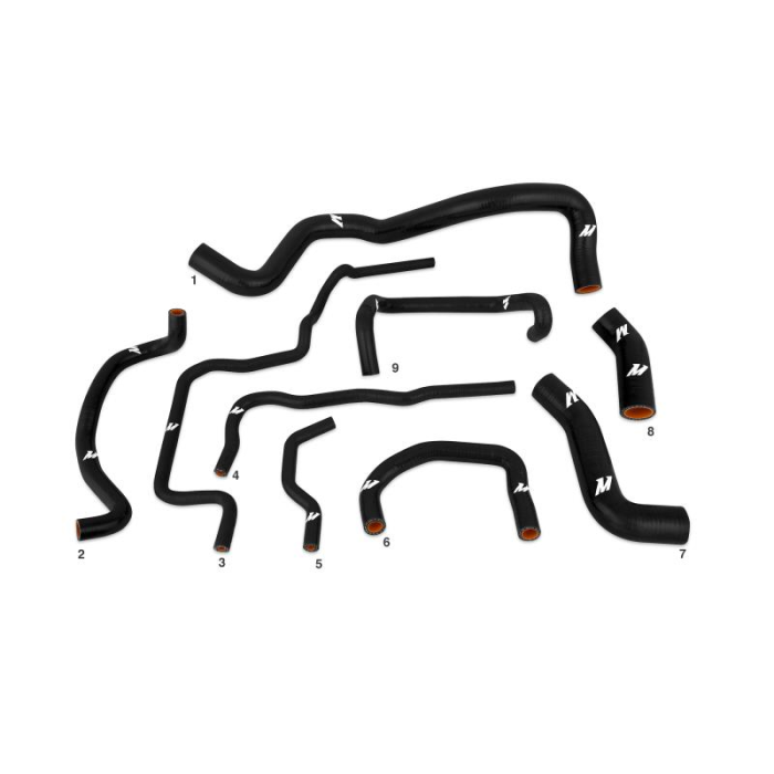 Silicone Hose Kit, fits Volkswagen Golf 1.8T 1999-2005