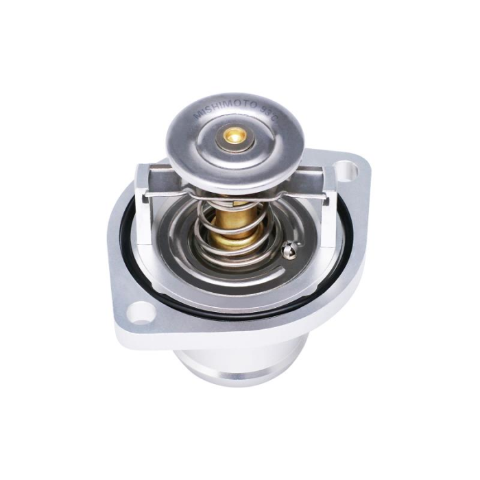 High-Temperature Thermostat and CNC Housing, fits Ford 6.0L Powerstroke 2003–2007