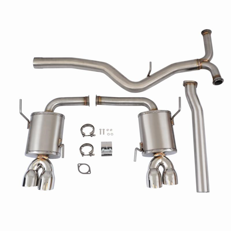Cat-Back Exhaust, fits Subaru WRX/STI 2015+