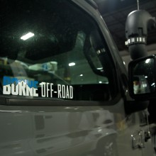 "Borne Off-Road Decal. 10.25"" x 2"""