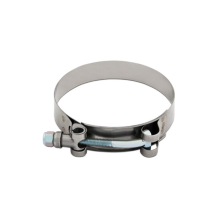 "Mishimoto Stainless Steel T-Bolt Clamp, 2.12""–2.44"" (54MM–62MM)"