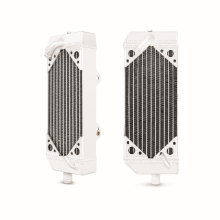 KTM 450/525 MXC/EXC Braced Aluminum Dirt Bike Radiator, Left, 2003-2007