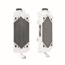 KTM 450/525 MXC/EXC Braced Aluminum Dirt Bike Radiator, Right, 2003-2007