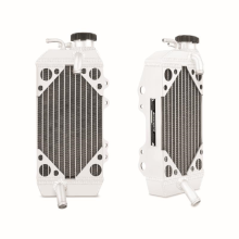 Braced Aluminum Dirt Bike Radiator, Right, fits Kawasaki KX250F 2006-2008