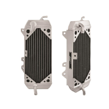 Left Braced Aluminum Radiator, fits Kawasaki KX250F 2009