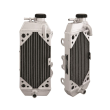 Right Braced Aluminum Radiator, fits Kawasaki KX250F 2009