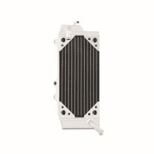Braced Aluminum Dirt Bike Radiator, Left, fits Kawasaki KX450F 2010-2012