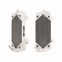 Suzuki RMZ450 Braced Aluminum Dirt Bike Radiator, Left, 2008-2013