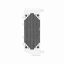 2-Stroke Left Braced Aluminum Dirt Bike Radiator, fits Yamaha YZ250 2005-2014