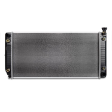 Replacement Radiator, fits Chevrolet/GMC C/K Truck 5.0L/5.7L V8 without HD Cooling 1994-2000