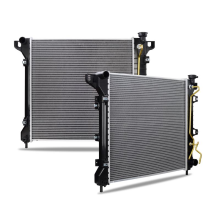 Dodge Durango Replacement Radiator, 1998-1999