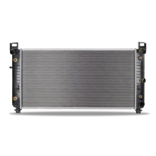 "Chevrolet Silverado w/ 34"" Core, Transmission Oil Cooler, and Engine Oil Cooler Replacement Radiator, 2003-2013"
