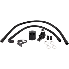 Baffled Oil Catch Can Kit, fits Ford 6.4L Powerstroke 2008–2010 PRE-SALE