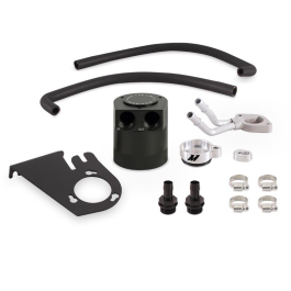 Baffled Oil Catch Can Kit, fits Ford 6.7L Powerstroke 2011–2016