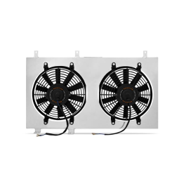 Performance Aluminium Fan Shroud Kit, fits Mitsubishi Lancer Evolution X 2008+