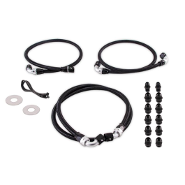 Transmission Cooler Line Kit, fits Chevrolet/GMC 6.6L Duramax (LB7/LLY) 2001-2005 PRE-SALE