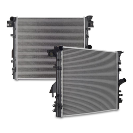 Replacement Radiator, fits Jeep Wrangler 2007–2015