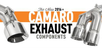 Exhausts Are Here For 2016+ Camaros