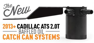Cadillac ATS Baffled Oil Catch Can