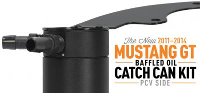 Protect Your Mustang From Oil Blow By With Our Newest Catch Can