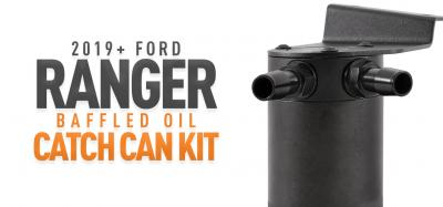Prevent Blow-by with our 2019+ Ford Ranger Catch Can