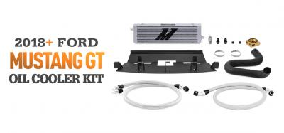 Add Extra Cooling With Our Mustang Oil Cooler Kit