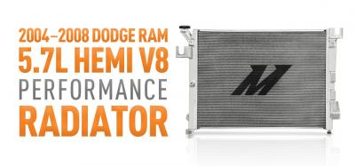 Stay Cool with our 5.7L HEMI V8 Radiator