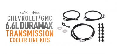 Two New Duramax Transmission Cooler Hoses