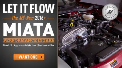 Let it Flow – The All-New 2016+ Miata Performance Intake