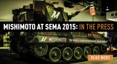 Mishimoto At SEMA 2015 News Coverage