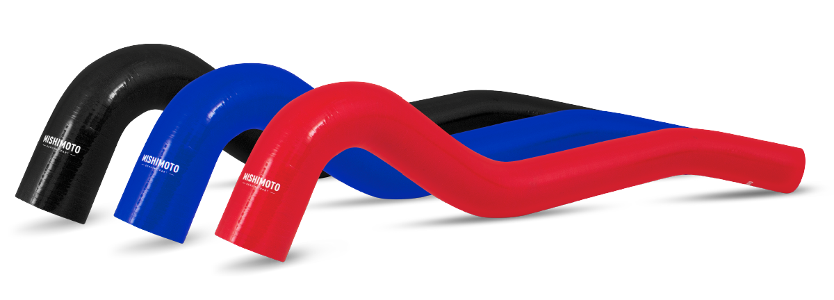 Many Mishimoto silicone radiator hoses are available in black blue and red to match any engine bay.  sc 1 st  Mishimoto & Silicone Hoses