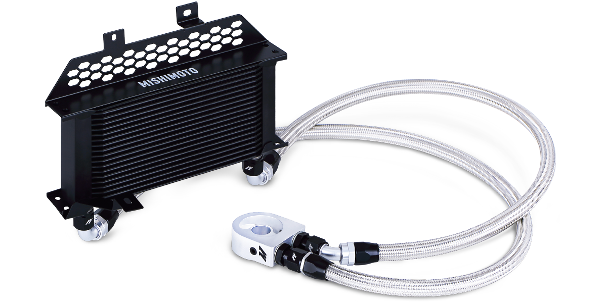 Automotive Oil Coolers : Oil cooler kits components